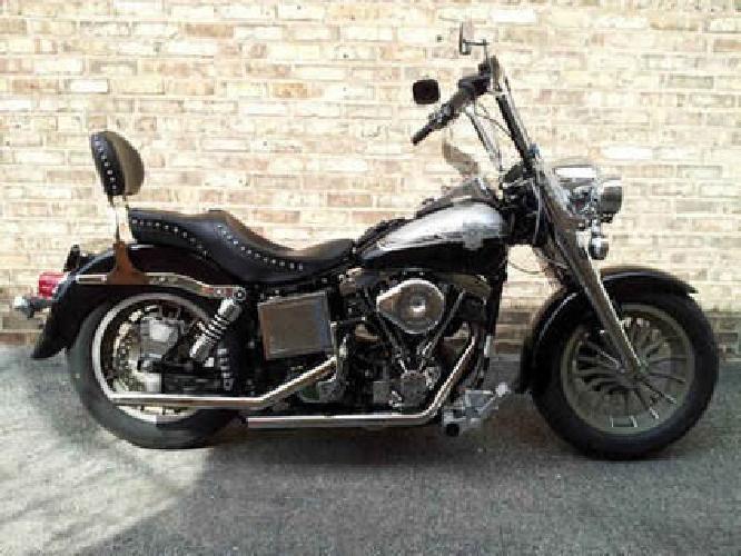 $7,200 Harley Davidson FLH 80 Shovelhead Electra Glide King of