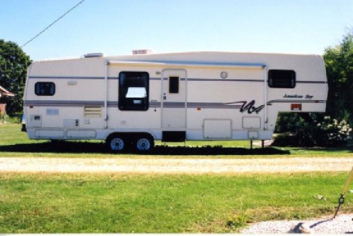 7 500 1997 American Star 34 Ft Camper With Slide For Sale