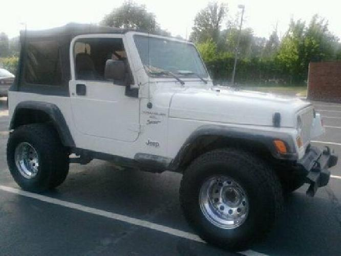 7 500 2001 jeep wrangler sport 6cyl manual 133k mi for sale in knoxville tennessee. Black Bedroom Furniture Sets. Home Design Ideas