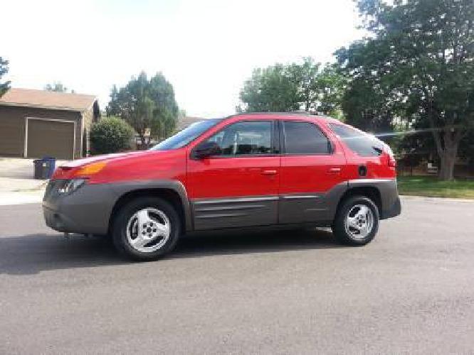 $7,500 2001 Pontiac Aztek 20K original miles!!!!