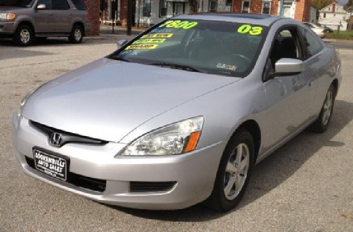 $7,800 2003 Honda Accord EX