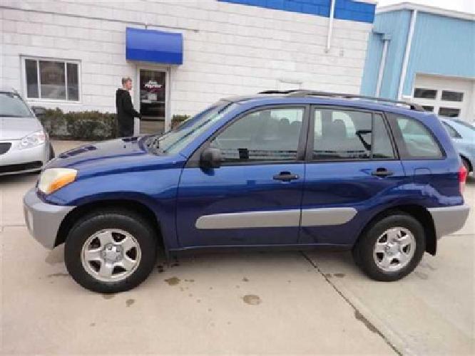 $7,888 Used 2003 Toyota RAV4 AWD SUV, 149,900 miles