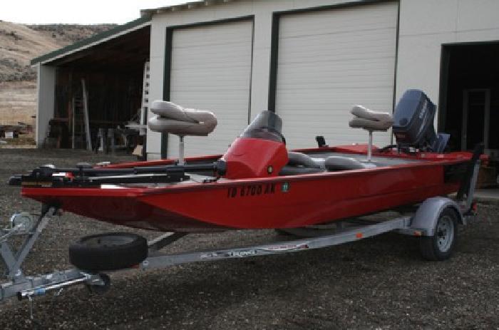 $7,900 OBO 2005 Alumacraft Pro 175 Boat 90HP Yamaha motor