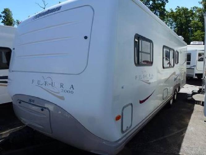 7 950 2000 Coachman Futura 2790tb Bunk House Fiberglass
