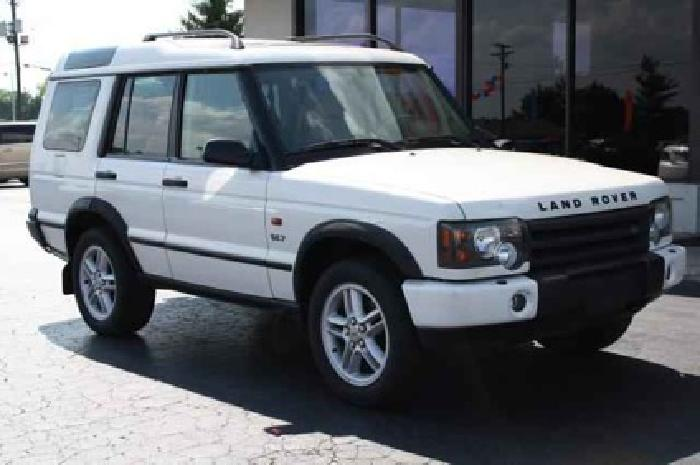 $7,980 Used 2003 Land Rover Discovery for sale.