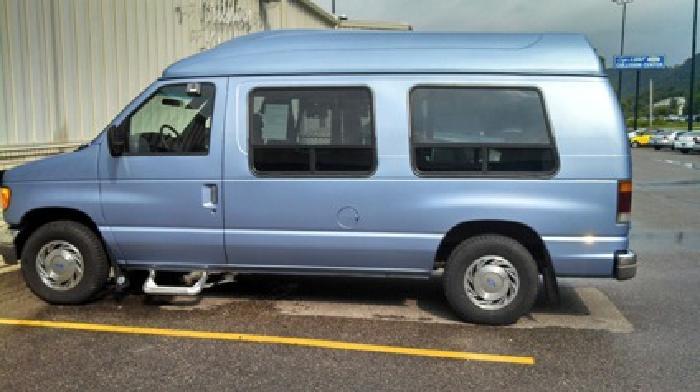 $7,990 1995 Ford E series HandiCap Van