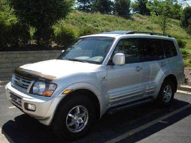 $7,995 2002 Mitsubishi Montero Limited 4WD 6Cylinder Silver/Black 84565K Mile