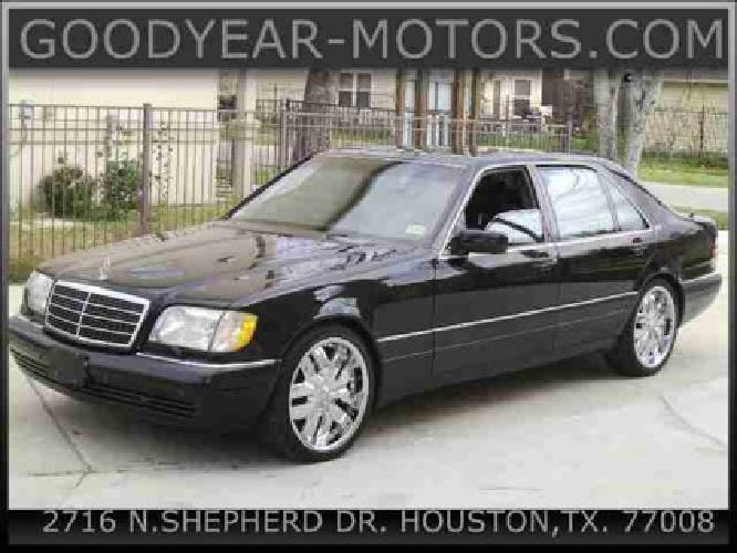 7 995 used 1998 mercedes benz s class for sale for sale for Mercedes benz sugarland careers