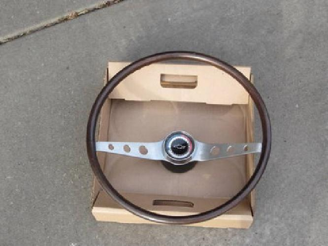 $800 1964 1965 1966 Chevy Impala Wood Steering Wheel
