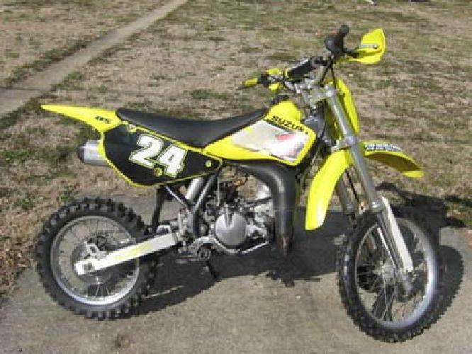 800 2002 suzuki rm85 dirt bike for sale in evansville indiana classified. Black Bedroom Furniture Sets. Home Design Ideas
