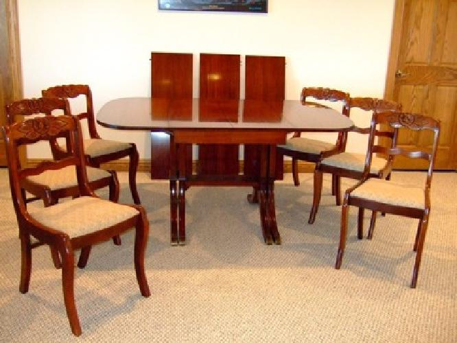 800 Dining Table And 6 Chairs For Sale In Madison Wisconsin Classified