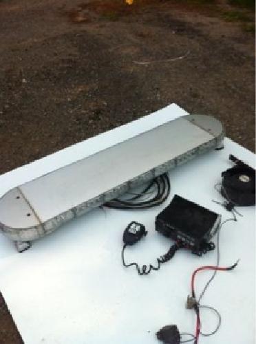 $800 OBO Soundoff Fullsize Lightbar for fire depatment use