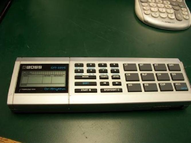 $80 Boss Dr-220e Dr. Rhythm Drum Machine