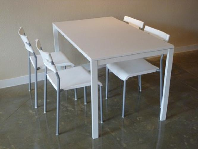 80 ikea dining table 4 chairs 10 month old for sale - Ikea dining table with 4 chairs ...