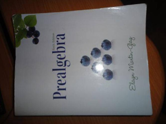 $80 Prealgebra Math110 6th Ed. (Bell)