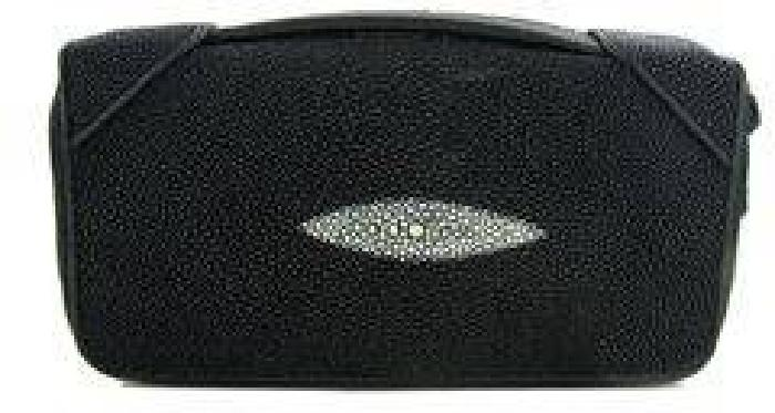$80 Stingray Hide Clutch Purse Wallet (ACT-000323)