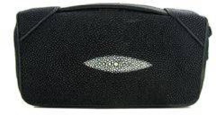 $80 Stingray Hide Clutch Purse Wallet (ACT-000323)