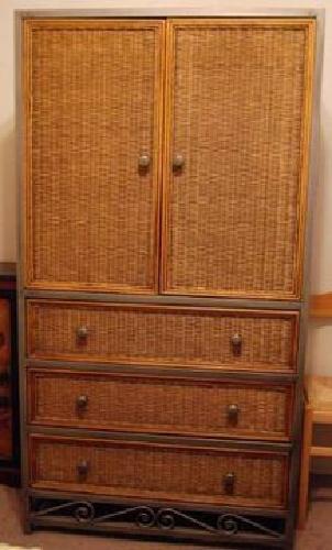 $850 10 piece Wicker Bedroom Set for sale in Glendale