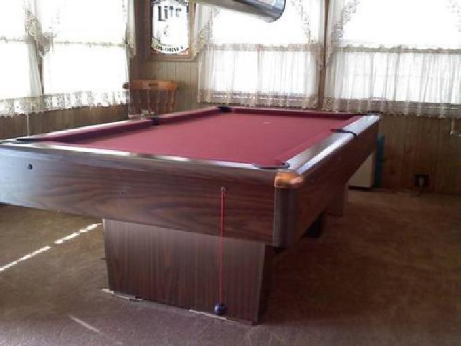 Hawthorn By Brunswick Pool Table Marlboro Pool Table For Sale 7 39 Pool Table With