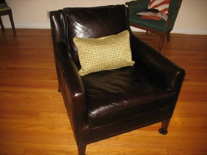 $850 Arm Chair Pottery Barn Arlington Leather