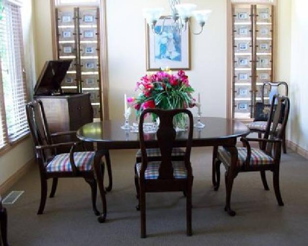 850 ethan allen dining room set elegant and a 1 condition for sale
