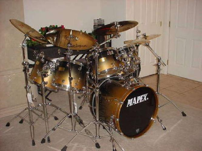 850 mapex saturn pro 6pc drum set for sale in henderson nevada classified. Black Bedroom Furniture Sets. Home Design Ideas