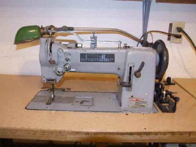 40 SEWING MACHINE Chandler Commercial Heavy Duty WALKING FOOT Custom Commercial Sewing Machines For Sale