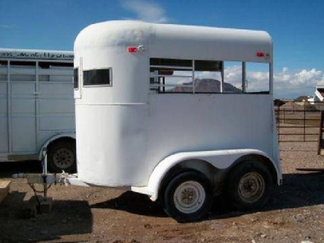 850 Used 2 Horse Trailer For Sale Nevada Extra Tall