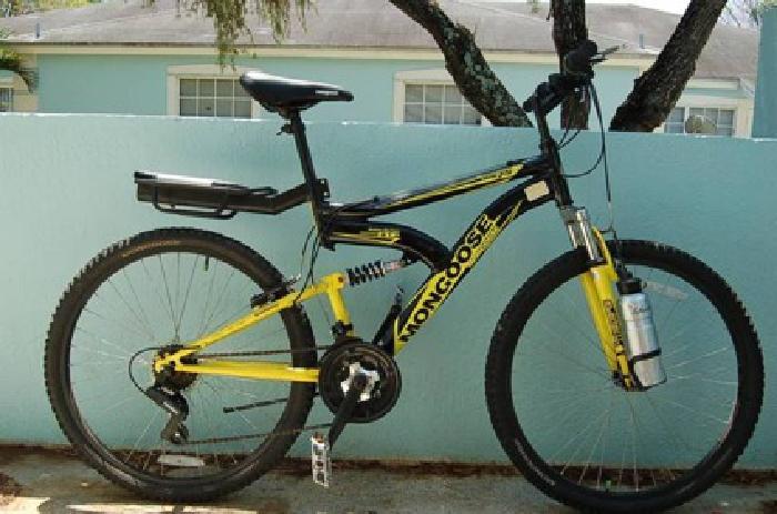 85 26 Mongoose Xr 75 Dual Suspension Men S Bike Bicycle