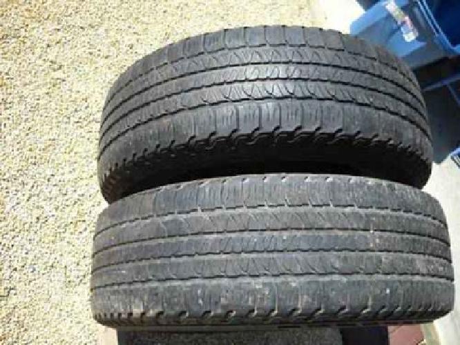 $85 2 Goodyear Fortera Radial tires 255/65R/18