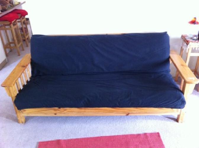 $85 OBO Solid Wood Futon