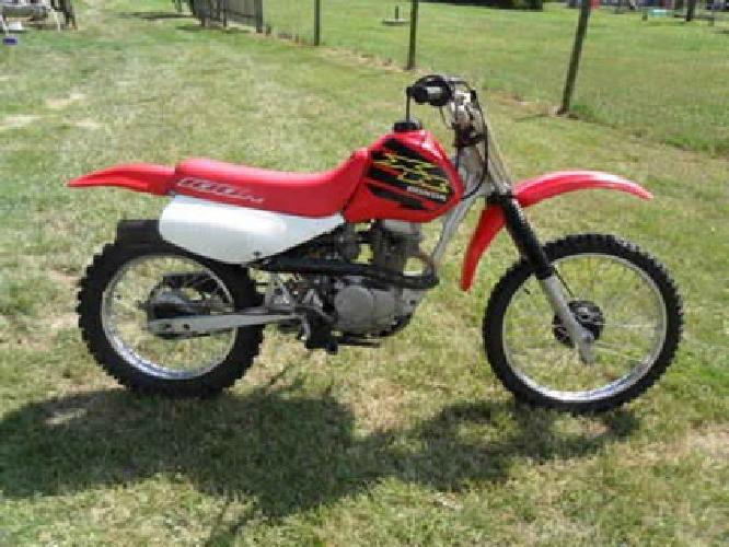 895 2000 honda xr 100 dirt bike obo for sale in newport michigan classified. Black Bedroom Furniture Sets. Home Design Ideas