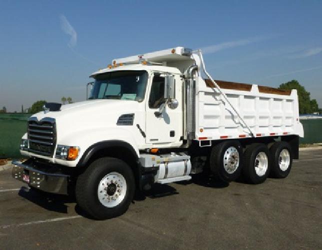 89 500 2006 mack granite cv713 super 10 15 17 yard dump truck for sale in norwalk california. Black Bedroom Furniture Sets. Home Design Ideas