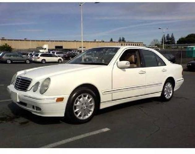 8 000 2000 mercedes e320 white sedan 4 door 118k for Mercedes benz frisco