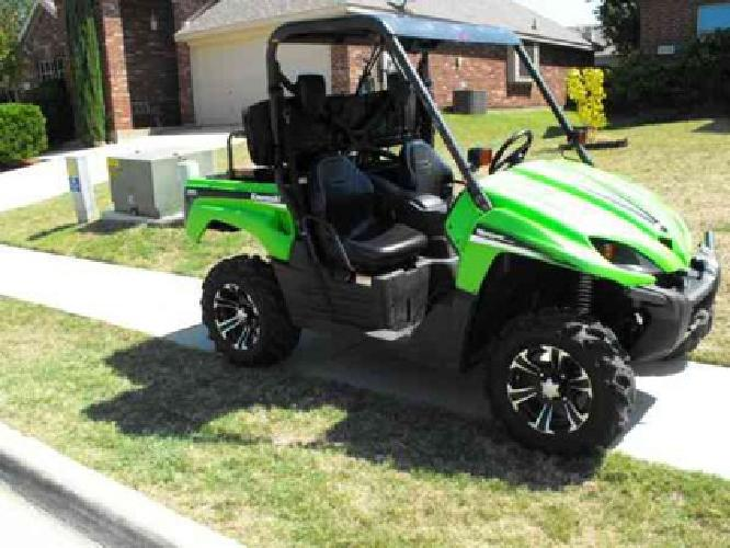 8 400 price reduced kawasaki atv side by side 4x4 for sale in dallas texas classified. Black Bedroom Furniture Sets. Home Design Ideas