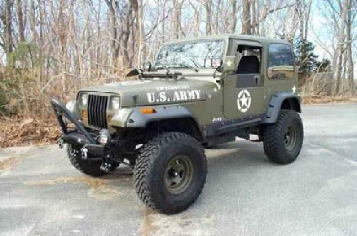 8 500 1994 Jeep Wrangler Yj Military Edition Must