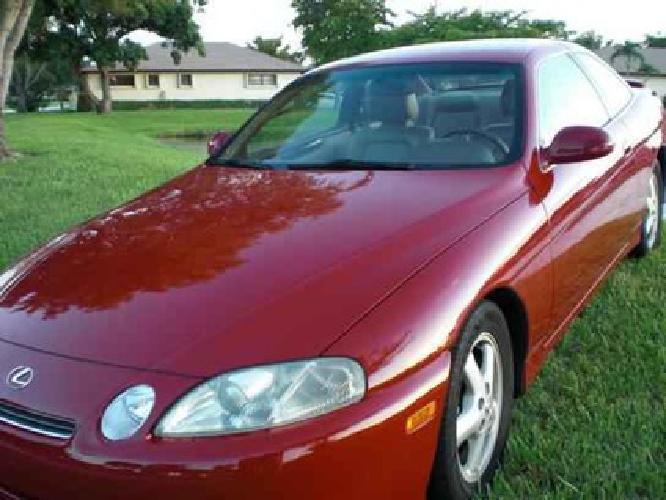 $8,500 1997 Lexus SC 300 Sport Coupe 2D