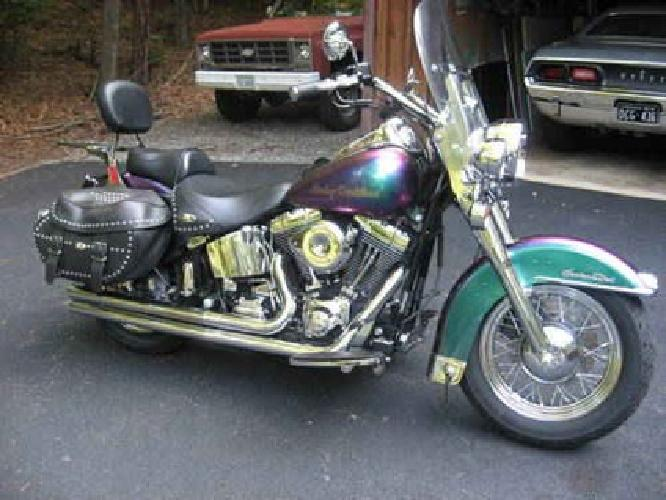 $8,599 2000 harley davidson heritage softail classic for