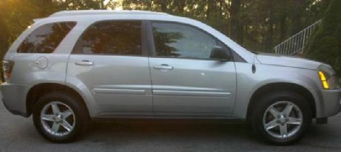 $8,700 2005 Chevrolet Equinox Lt Awd Suv, Leather Int, Super Clean, MD Insp.