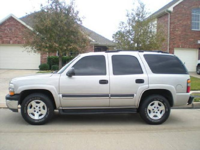 8 900 2004 chevy tahoe lt one owner price reduced for sale in houston texas classified. Black Bedroom Furniture Sets. Home Design Ideas