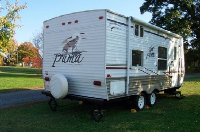 8 900 2007 Palomino Puma 19 Fs Travel Trailer For Sale In