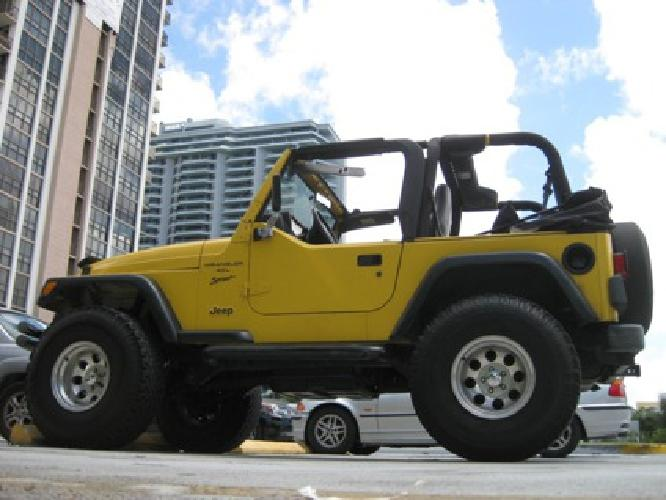 8 900 obo 2000 jeep wrangler for sale in miami florida classified. Black Bedroom Furniture Sets. Home Design Ideas