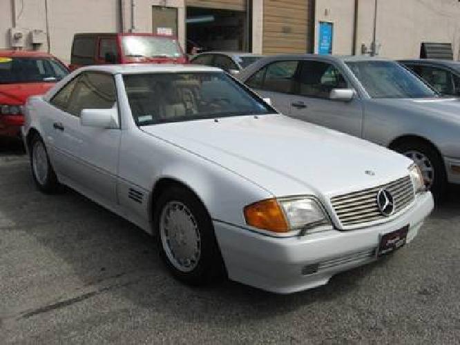8 995 1991 mercedes benz 500sl 500sl for sale in egg for Mercedes benz egg harbor twp