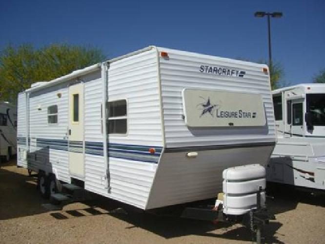 8 995 98 starcraft 28 39 travel trailer w slide out clean cheap for sale in phoenix