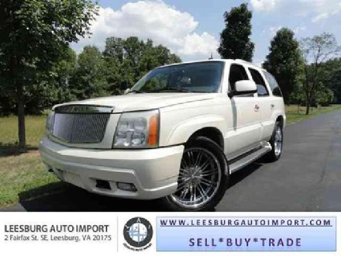 8 995 Used 2004 Cadillac Escalade Luxury W 24 Inch Rims