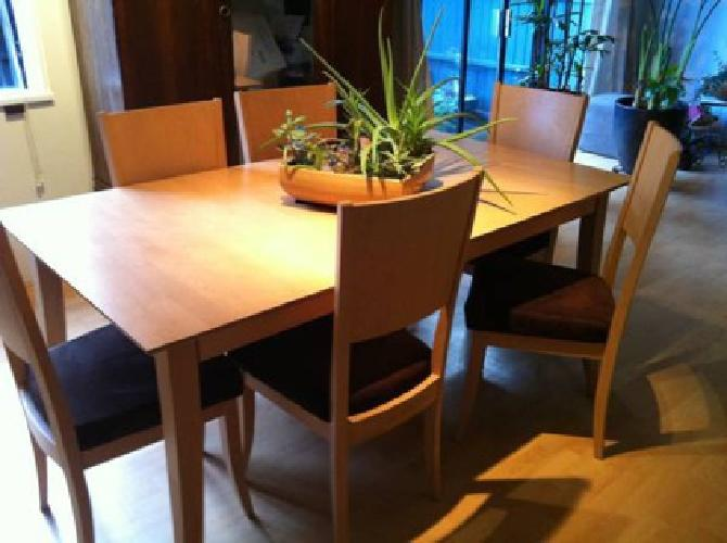 900 dining table set vancouver b c for sale in vancouver for Dining room tables vancouver wa