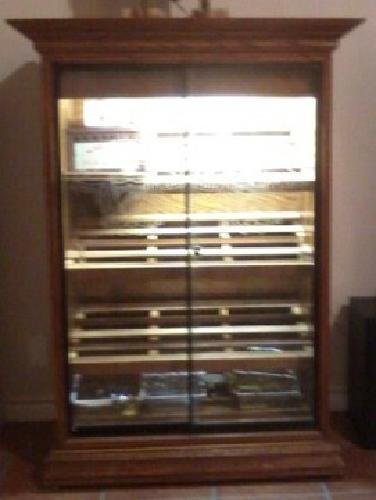900 Obo Fuego Cubano Cigar Humidor Display Cabinet For