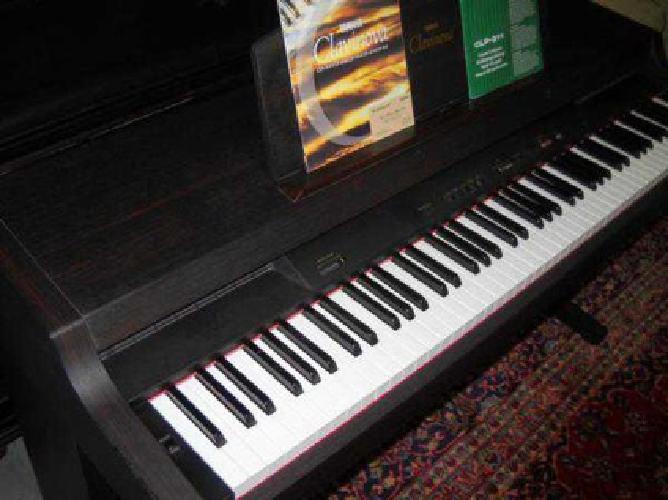 900 yamaha clavinova digital midi piano clp 311 keyboard