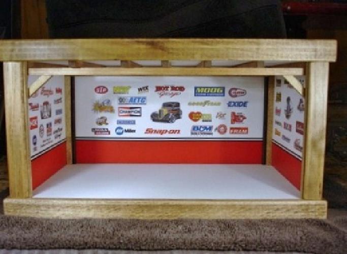 $90 Bare Bones Garage Diorama for 1:32 Scale Die Cast Model