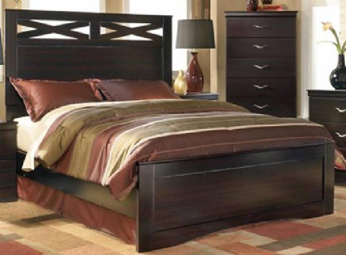 16 Pc Bedroom Set Furniture By Ashley Layaway Available For Sale In San Antonio